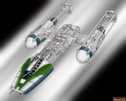 Y-Wing by Corven55