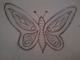 Second butterfly by Booklover198273