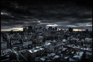 Dark City by p0m