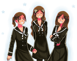 Maphilindo in Asia Class Uniform by miximmaxim