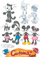 Cartoons Rules sketch by Kittychan2005