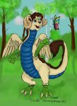 Doodle the Dragon redone by Raph1966