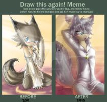 Before and After Meme: Sunny Morning by KinglyMS