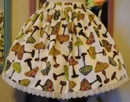 I Love Tiffany Lamp Skirt by spookydarling