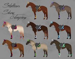 OLD - ELS Horse Showjumping Equipment - Stallions by michelle222