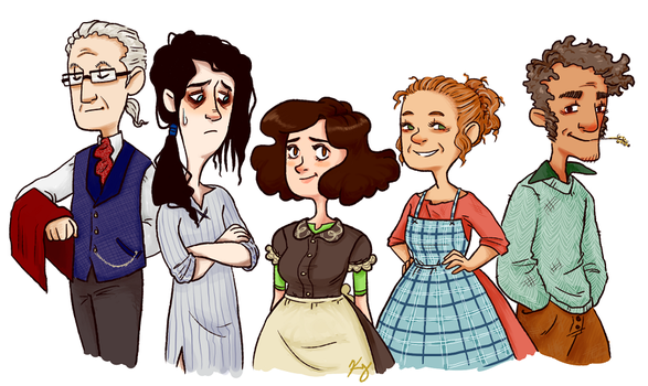 Cast of the Molly Story by KellyDawn