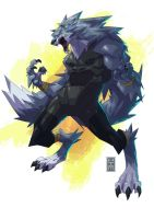 THE WOLF FORM by KimJacinto