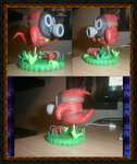 Super Mario 64 - Snufit Clay Model by FierceTheBandit