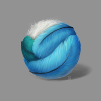 Texture Study #1 - Feathers by caughtinthehurricane