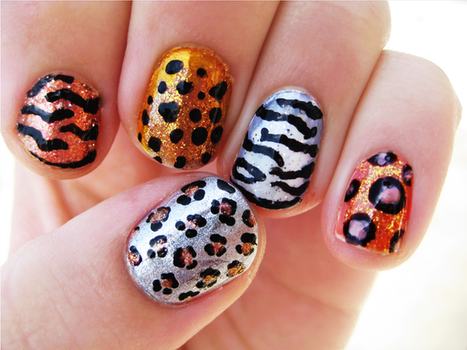 Big Cat Nails by Totally-Tomboy