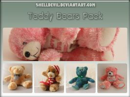 Teddy Bear Pack 2 by shelldevil