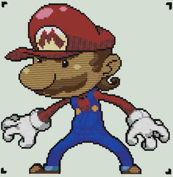 Minecraft - Mario by luk01