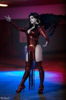 Dark Angel Donna Troy by SilverShadeCosplay