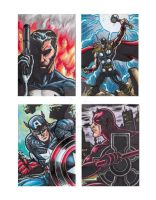 Jofel Cube Marvel Sketchcards sample 2 by tikbaloycube