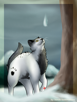Tallstar and Mitch by Lionstrikewhiskers