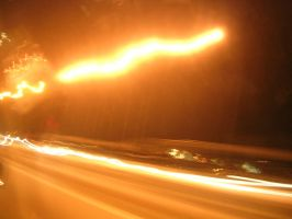 lights on the highway by prettycorpse