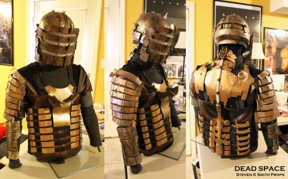 DEAD SPACE - Cosplay WIP Armor by SKSProps