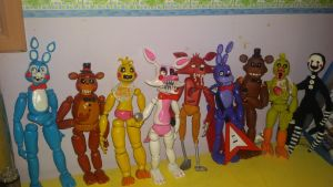 Five nights at freddy's complete collection!  by Bluetta97