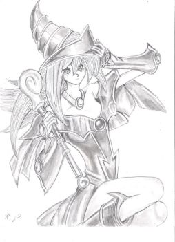 Dark Magician Girl by RAMTAKER