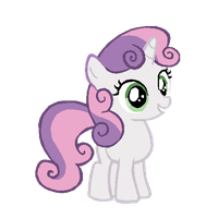 Sweetie Belle Vector by Bronyboy