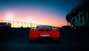 ferrari F430 - Watches sunrise by dejz0r