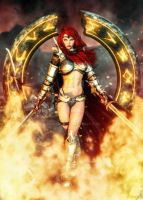 ~ Flames of War ~ by CKImagery