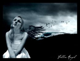 . fallen angel . by poetically-pathetic