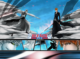 Bleach - Hollow Vs Ichigo by HikariNoGiri