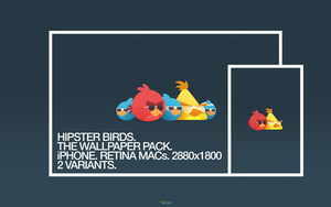 Hipster Birds by abhas1