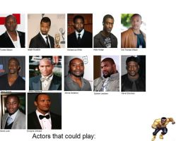 The actors that could play: Luke Cage by SteveIrwinFan96