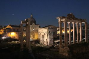 Roman forum II by AuroraxCore
