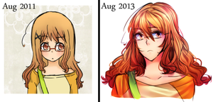 redo: Aug 2011-Aug2013 by Arcky-Cano