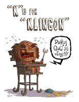 K Is For Klingon by OtisFrampton