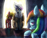 Why'd you bring me him? by Bread-Crumbz