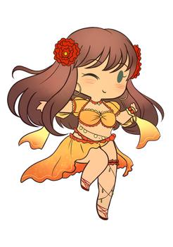 [fateGO] sunny eyed girl by maiscribble
