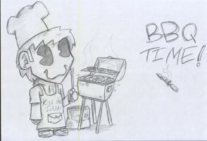 Chibby BBQ Time! by theINAshow