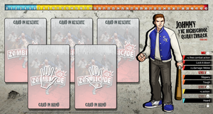 Zombicide Redesigned Character Sheet - Johnny by ZAQUARD