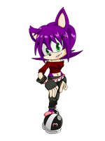 Ophilia Harpe, The Hedgehog by X-A-K