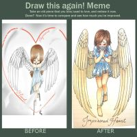 Angel do this again! by lunedragonfly