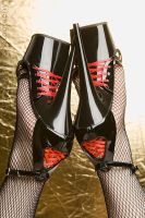 Corset Heels I by Seiran-Photography