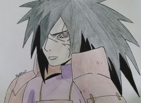 Madara Uchiha by jackom31