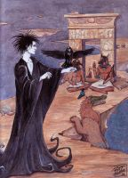Sandman: Weighing of the Heart by ratcreature