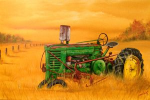 Ron's Tractor by ChadFullerton