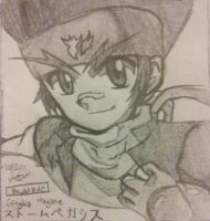 Gingka Hagane-  Beyblade MF, MFE, and 4D by tepig56