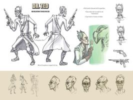 Dr. Ted Concept Art by Karmenta