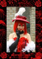 Madame Red: Sinister Smile by BlackRoseMikage