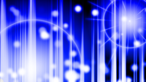 Chaotic Blue Wallpaper by DefectiveDre