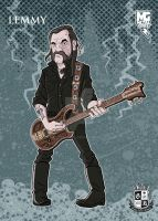 Metal Gods - Lemmy by Gengiskahn