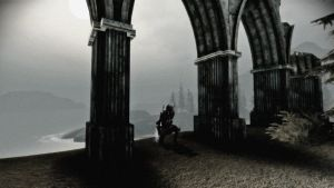 Shadow of the Ruins by Iazcutler