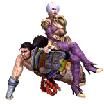 Soul Calibur - Mitsurugi and Ivy by CaliburWarrior